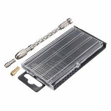 Micro punte 21pc 0.3-1.6mm HSS Twist Micro Drill Bits mini trapano a mano