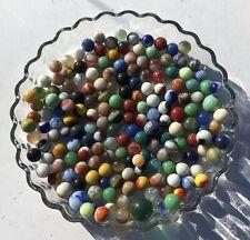 Lot 100+ ESTATE FIND Glass Marbles- Antique, Vintage , Players