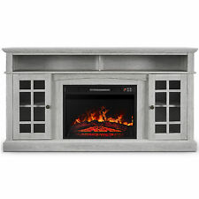 Fireplace TV Stand W/Remote Control Entertainment Center For TV's Up to 65