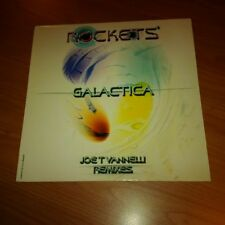 12 MIX ROCKETS GALACTICA JOE T VANNELLI REMIXES DB193 EX/EX+ ITALY PS 2003