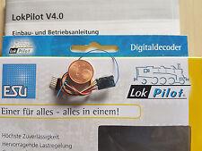 ESU 54684 LokPilot micro v4 Décodeur DCC Câble + 6 broches connecteur * NOUVEAU & OVP *