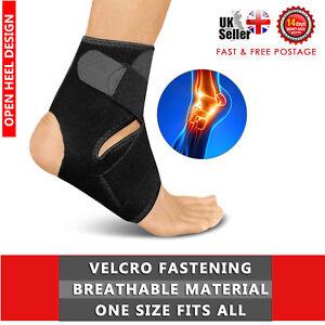 Medical Ankle Support Strap Compression Wrap Bandage Brace Neoprene sports foot