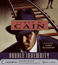 Double Indemnity by James M. Cain (CD, Unabridged, 4 Disc) NEW