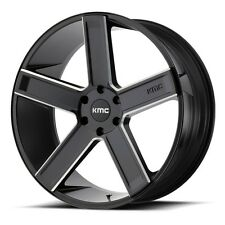 20 Inch Black Wheels Rims Dodge Charger Challenger RT Magnum KMC KM702 5x115