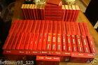 RARE Lot 66 Guides Rouge Michelin FRANCE de 1950 à 2015 - Excellent état- 60 KGS