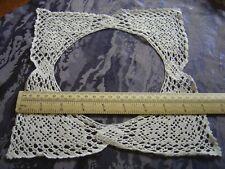 Crochet Mat Surround Needs Cotton or Linen Centre Vintage