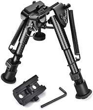 Cvlife Carbon Fiber Bipod with Picatinny Adapter 6-9 Inches
