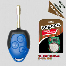 3 Button Replacement Remote Key Fob 434MHz 4D63 for Ford Transit WM VM 2007-2014