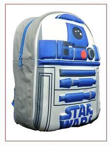 Official Star Wars R2D2 3D Character Boys Kids Backpack Rucksack School Bag