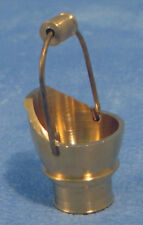 1:12 Scale Brass Coal Bucket Dolls House Fireplace Accessory