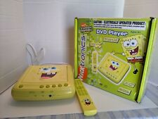 SpongeBob SquarePants Emerson Dvd Player W/Remote and box! 2004