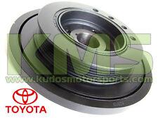 Harmonic Balancer - Genuine Toyota Supra JZA80 RZ / SZ / SZR - 2JZ-GE & 2JZ-GTE