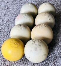 8 Used Lacrosse Balls Mixed Brands/Assortment