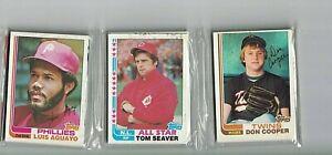 1982 Topps Baseball Factory Sealed Rack Pack - HOF'er Tom Seaver on Top!!