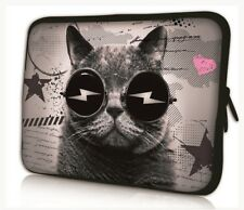 """17""""-17.3"""" LAPTOP SLEEVE CARRY CASE BAG FOR DELL HP TOSHIBA COMPAQ APPLE catglass"""