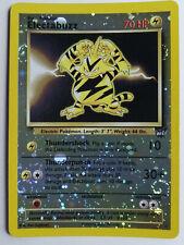 Pokemon Inglese Promo Electabuzz best n. 1 Holo Reverse BattleZone 2002 N Mint