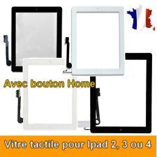 VITRE TACTILE POUR ECRAN TABLETTE POUR IPAD 2 / 3 / 4 / AVEC BOUTON HOME