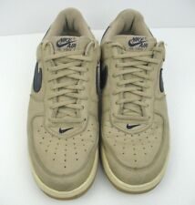 lowest price 9783d fd2d3 NIKE AIR FORCE 1 Mens Size 12 Mushroom Navy Blue Linen Low Top 1997 630033  241
