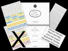 Baby Boy's First Year 13 Month Keepsake Calendar & Sticker Kit Srm Press Diy