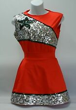 Dance (drill team) outfit for dancers, skaters, or twirlers