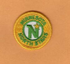 VERY OLD MINNESOTA NORTH STARS 2 INCH LOGO PATCH UNUSED UNSOLD STOCK