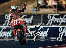 Marc MARQUEZ 2017 SIGNED 16x12 Autograph Photo 5 AFTAL COA MOTOGP Honda Rider