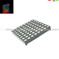 5mm 8*8 8x8 Full Colour RGB LED Dot Matrix Display Module Common Anode 60x60mm D