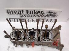 1980's Polaris Indy 600 Triple Snowmobile Engine Bottom End Crankshaft Cases