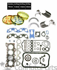 88-95 Honda Civic 1.5L 16V SOHC D15B D15B1 D15B7 D15B8 *Engine RE-RING Kit*