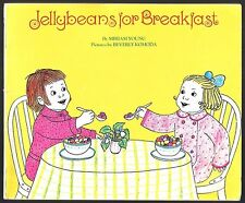 Vintage Children's Book ~ JELLYBEANS FOR BREAKFAST ~ Miriam Young