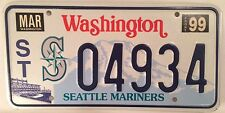 SEATTLE MARINERS license plate MLB Baseball World Series The M's Safeco Moose