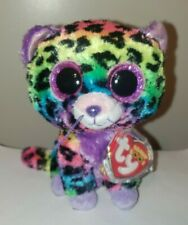 Ty Beanie Boo's - TRIXIE the Leopard (6 Inch)(2014 Justice Exclusive) NEW MWMT