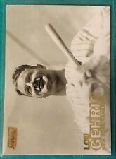 2016 Topps Stadium Club Gold Lou Gehrig #87 New York Yankees Ny Iron Horse