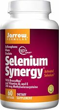 Jarrow Formulas Selenium Synergy Vitamin B2 and E, 60 Capsules