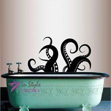 Vinyl Decal Octopus Tentacles Animal Ocean Bathroom Bedroom Wall Sticker 618