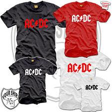 AC/DC Kinder  T-Shirt 104 - 152 acdc ac dc ac/dc kids