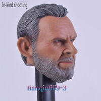 Custom Sean Connery 1/6 Male Head Sculpt A-28 Fit 12'' Phicen Body Action Figure