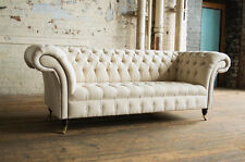 Awe Inspiring White Chesterfield Sofas For Sale Ebay Theyellowbook Wood Chair Design Ideas Theyellowbookinfo