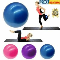 Exercise Ball Fitness Stability Balance & Yoga Ball Anti Burst Pump Included US
