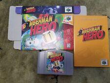 Bomberman Hero 64 (Nintendo 64) Complete  N64 VERY GOOD CONDITION