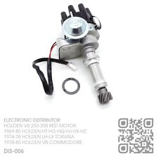 DIS-006 V8 253-308 RED ENGINE ELECTRONIC DISTRIBUTOR [HOLDEN VB COMMODORE]