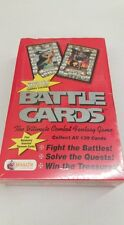 Battle Cards The Ultimate Combat Fantasy Game Booster Box SEALED!!!