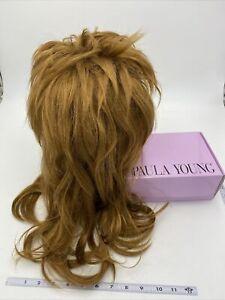 "Paula Young Wig Long Large Auburn Hair 24"" Length Layers"