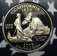 2005-S California Gem DCAM Clad Proof State Quarter Stunning Coin  DUTCH AUCTION
