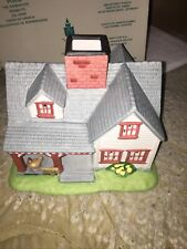 New ListingPartylite Villages The Farmhouse Ceramic Porcelain Tealight Candle Holder Box
