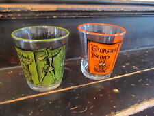 Robin Hood & Treasure Island promo glasses set of 2 Great Condition