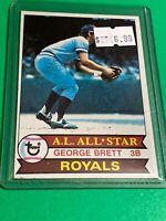 🔥 1979 TOPPS Baseball Card Set #330 🔥 KANSAS CITY ROYALS 🔥 GEORGE BRETT