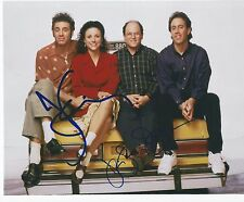 Jerry Seinfeld Julia Louis Dreyfus Dual Signed Autographed 8x10 Photo