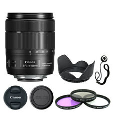 Canon EF-S 18-135 mm f/3.5-5.6 IS USM Lente + Kit de accesorios de lujo