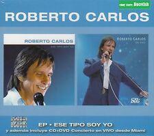 Roberto Carlos EP Ese tipo soy yo + Incluye CD+DVD Concierto en Vivo Box set NEW